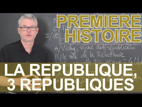 La République, trois républiques - Histoire-Géographie - 1ère - Les Bons Profs
