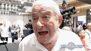 BOB ARUM SCARED PACQUIAO COULD END UP LIKE ALI!