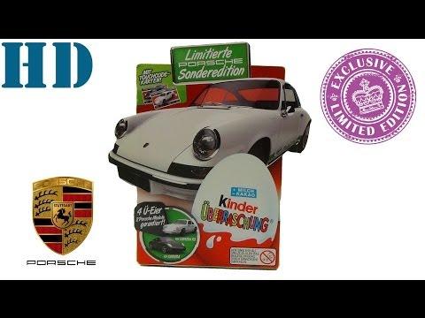 Киндер сюрприз Porsche белый ограниченным тираж 2014 коллекция