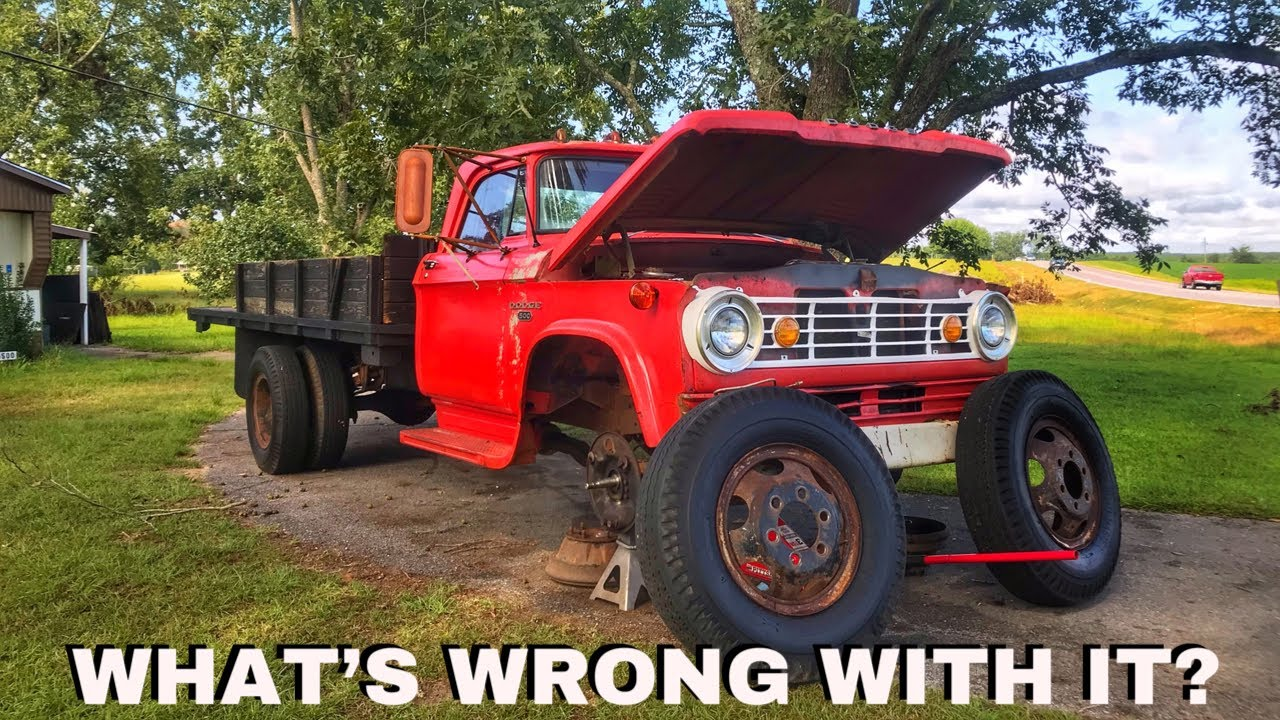 Sitting for 17 Years Caused This PROBLEM! Making My Old Farm Truck Dangerous to Drive...