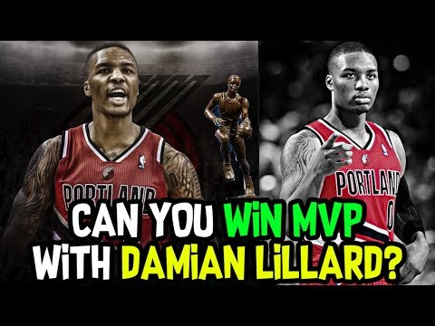 CAN YOU WIN MOST VALUABLE PLAYER WITH DAMIAN LILLARD? NBA 2K18 CHALLENGE