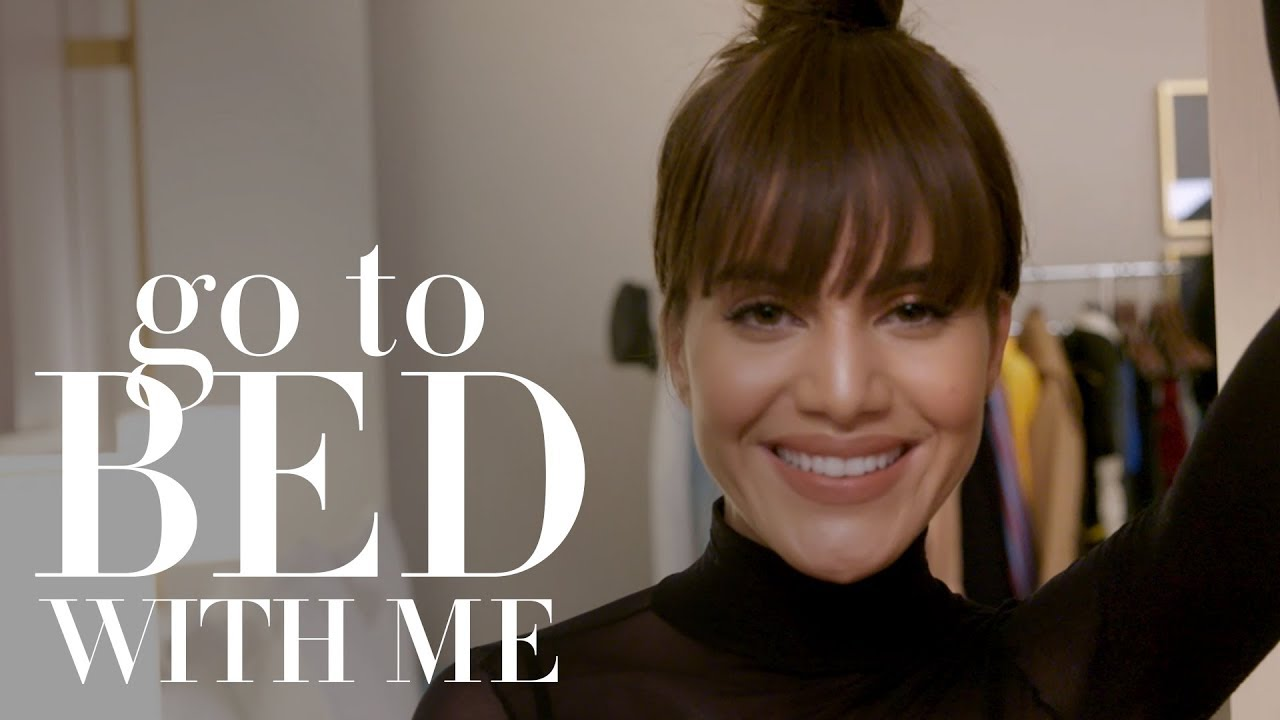 Camila Coelho's Nighttime Skin Care Routine | Go To Bed With Me | Harper's BAZAAR