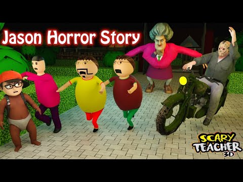 Download Gulli Bulli Jason Horror Story | Scary Teacher Horror Story Part 2 | Horror Joke Toons