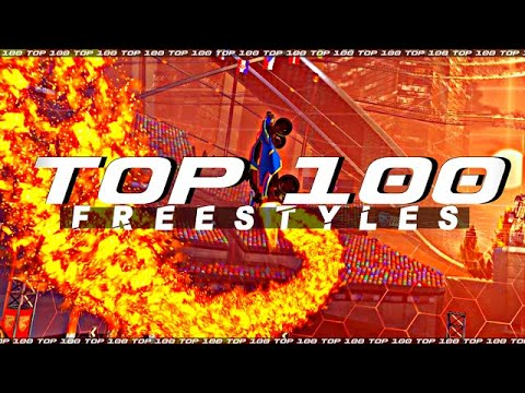Download ROCKET LEAGUE TOP 100 FREESTYLES