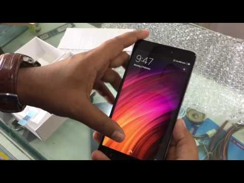 Redmi Note 4 (4 gb Ram, 64 gb) unboxing in hindi