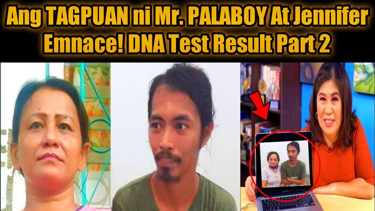KMJS Ang TAGPUAN ni Mr. Palaboy At Jennifer Emnace / DNA Test Result Positive!? Part 2