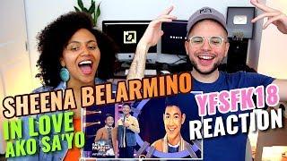 Sheena Belarmino - In Love Ako Sa'yo   Darren Espanto   Your Face Sounds Familiar Kids 18   REACTION