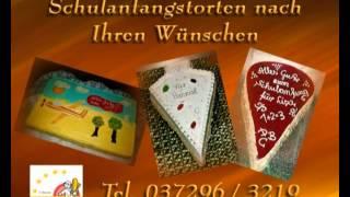 Schulanfangstorten - Bäckerei Gunter Weißbach