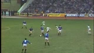 Rangers 4 Celtic 4 22/03/1986