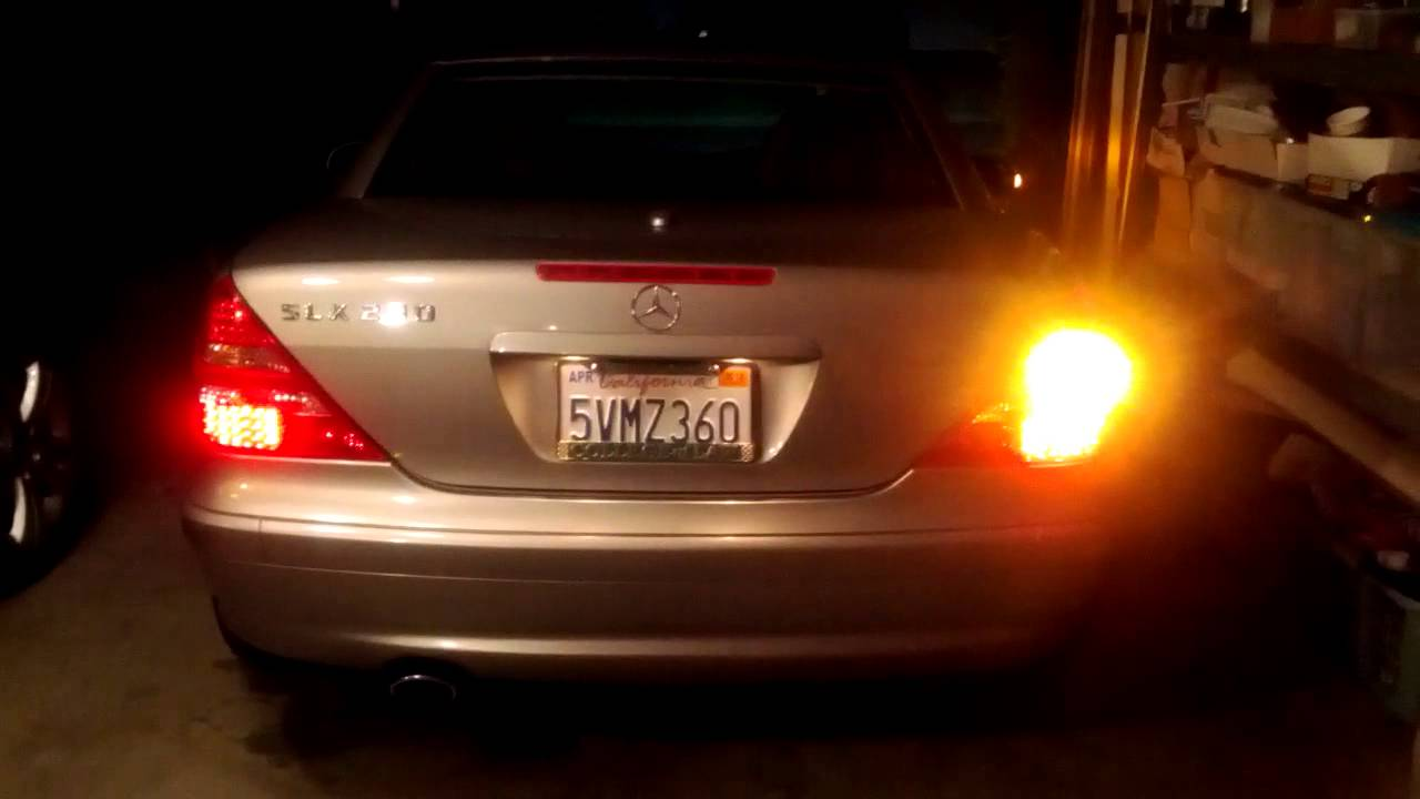 Depo Brake Tail Light Assembly On My 2003 Mercedes Benz