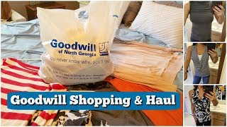 Goodwill Shopping + Haul l Clothing Haul l Shop with Me l Thrift Shopping