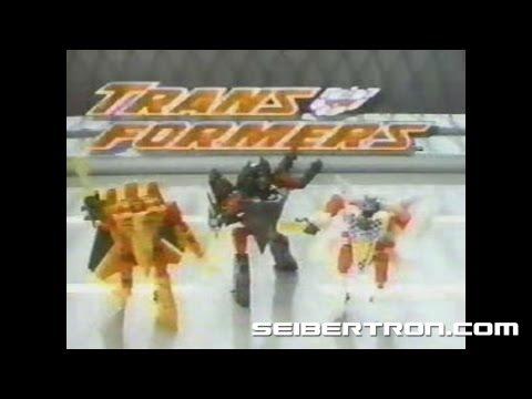 Transformers G2 CYBERJETS Generation 2 commercial 1995