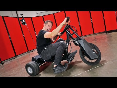 Thumbnail: Electric Drifting Trike! | DOPE or NOPE?!