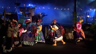 """2006年4月5日から5月7日に開催されていた東京ディズニーシーのショー「ポルト・パラディーゾ・ウォーターカーニバル""""エテールノ""""」の終盤(通常..."""