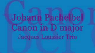 Johann Pachelbel: Canon in D major (Jacques Loussier)