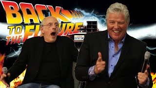 Christopher Lloyd and Tom Wilson Talk Back to the Future - Doc Brown and Biff Tannen Panel
