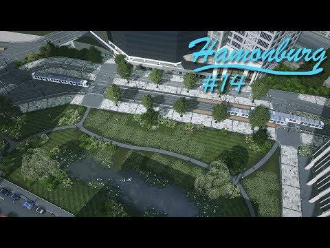 Cities Skylines: Hamonburg #14 - Tram Promenade/Park