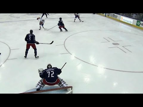 Islanders on the board, thanks to Bailey toe drag and some luck