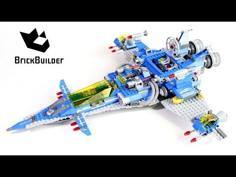Lego Movie 70816 Benny's Spaceship - Lego Speed build