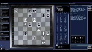 Chessmaster 1 - 0 Fritz (ChessBase) (27/6/2017)