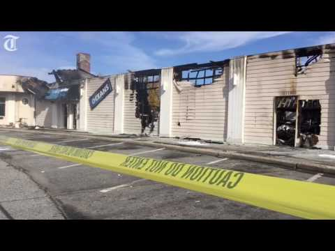 Night Club Destroyed In Fire, Cleanup Begins