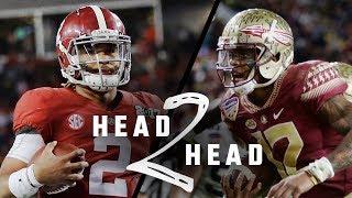 Head to Head: Alabama vs Florida State