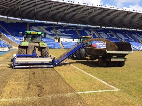 Pitch Renovation: Timelapse