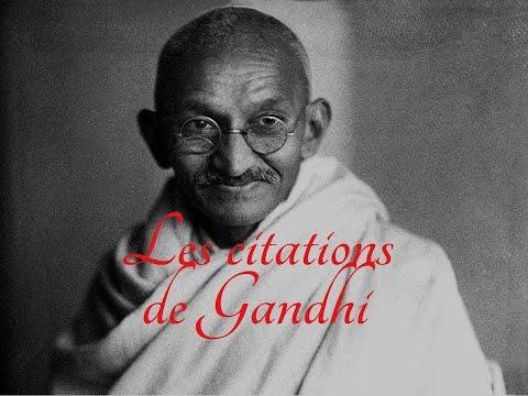 Les plus belles citations de Gandhi (Partie 1)