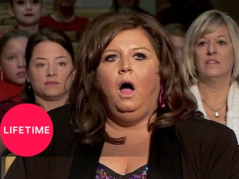 Dance Moms: Melissa Runs Across the Stage (S4, E3) | Lifetime