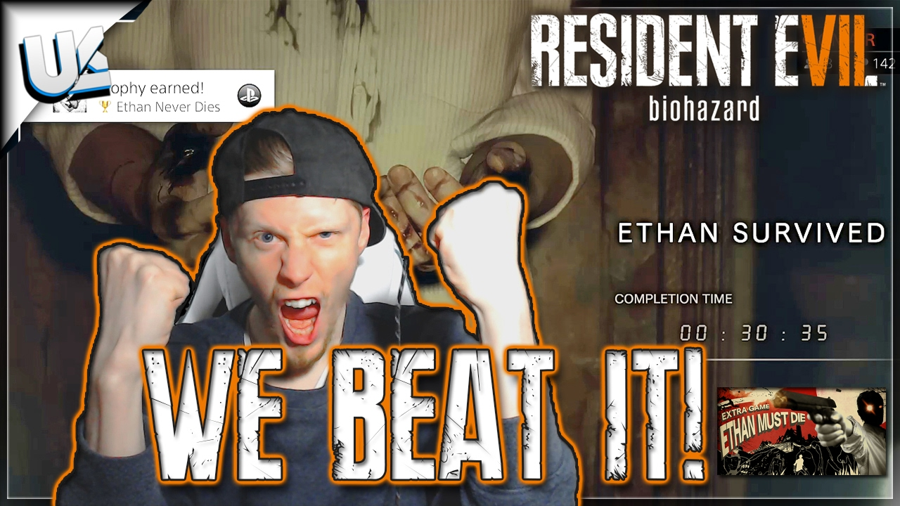 Beating Ethan Must Die Mode Resident Evil 7 Biohazard Banned