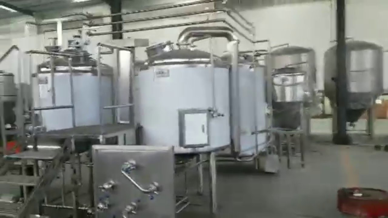 5 Bbl Electric Heated Brewery With Herms And Plc Controls