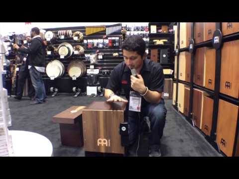 2014 Winter NAMM MEINL Turbo SlapTop and Jumbo Bass Cajons