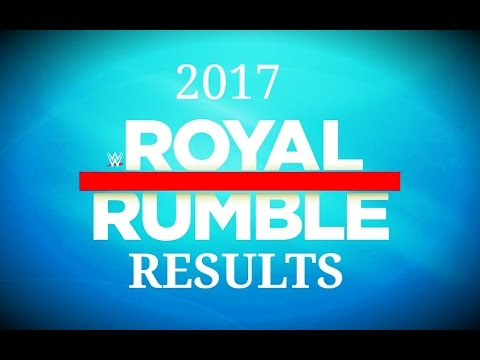 WWE ROYAL RUMBLE 2017 RESULTS