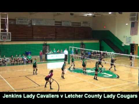 Jenkins Girls v Letcher County Volleyball