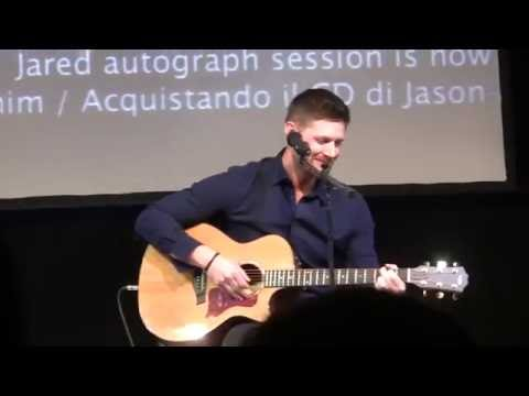 Jus in Bello 2016 - Jensen Ackles is singing Simple Man