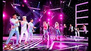 Categor a grupos lo dan todo en escenario Galas en Vivo Factor X Bolivia 2018