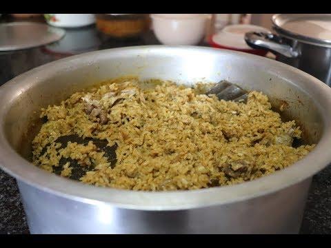 seeraga samba chicken dum biryani recipe in Tamil with English subtitle