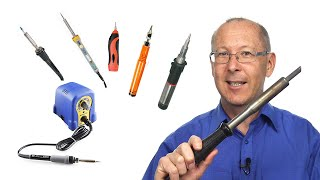 Which is the best soldering iron to repair audio leads?