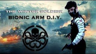 DIY WINTER SOLDIER ARM!! COSTUME CREEP-ATHON 2017: EPISODE 4