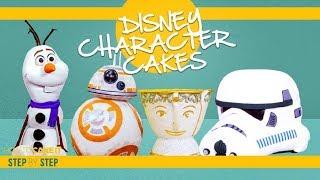 Disney Character Cakes Compilation  | AMAZING CAKE DECORATING! | How To Cake It | Yolanda Gampp