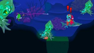 New START GAME ZOMBIE CATCHERS WITHOUT CHEATS! CATCH BLUE LAGOON ZOMBIES! LEVEL 77!!