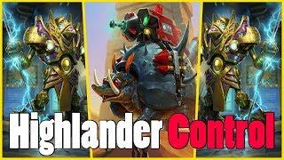 Highlander Control Warrior | Saviors of Uldum | Hearthstone