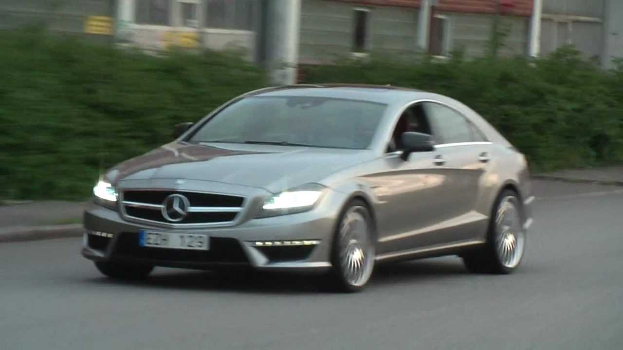 modified mercedes cls63 e420 cdi playing around youtube. Black Bedroom Furniture Sets. Home Design Ideas