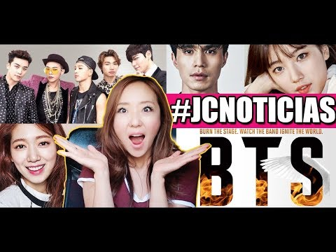 BTS BURN THE STAGE + PAREJAS CONFIRMADAS + BIGBANG - JiniChannel