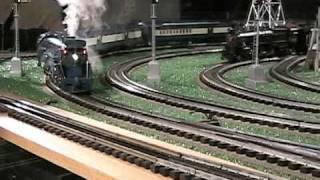 mth premier cnj blue comet pacific 4 6 2 o gauge steam locomotive