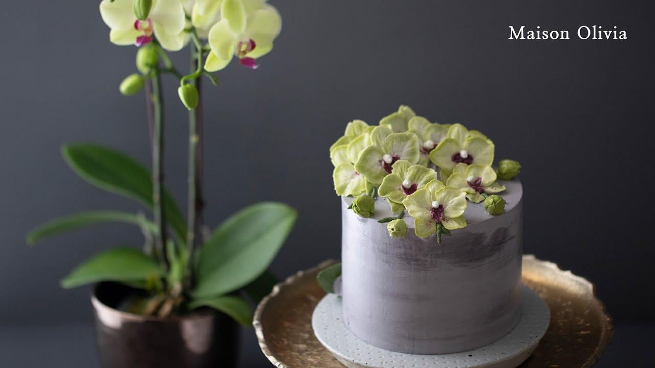 [SUB]Orchid Cake(Flower Cake). 양란케이크(플라워케이크)