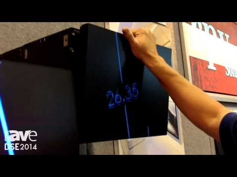 DSE 2014: rp Visual Hilights Matrix Panel Mounts