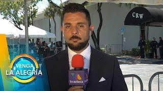 Ricardo y Farfán desde el funeral de José José en Miami. | Venga La Alegría