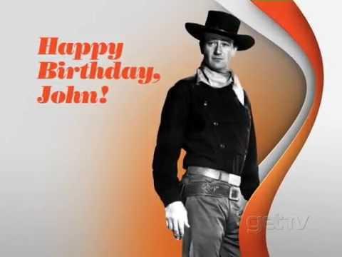 Happy Birthday JOHN WAYNE! | Scoopnest  |Happy Birthday John Wayne