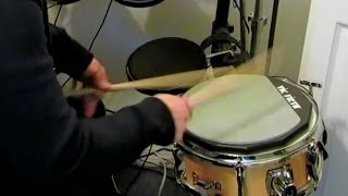 Vic Firth Double Sided Practice Pad quick test